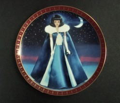 Danbury Mint High Fashion Barbie Midnight Blues Plate, no box, no COA - $8.99
