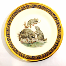 Lenox Presents Raccoons Woodland Life Boehm 1973 Limited Edition Plate 1... - $24.99