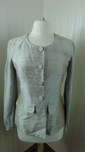 Vintage Emporio Armani Blazer Jacket Ladies size 42 M Gray - $30.00
