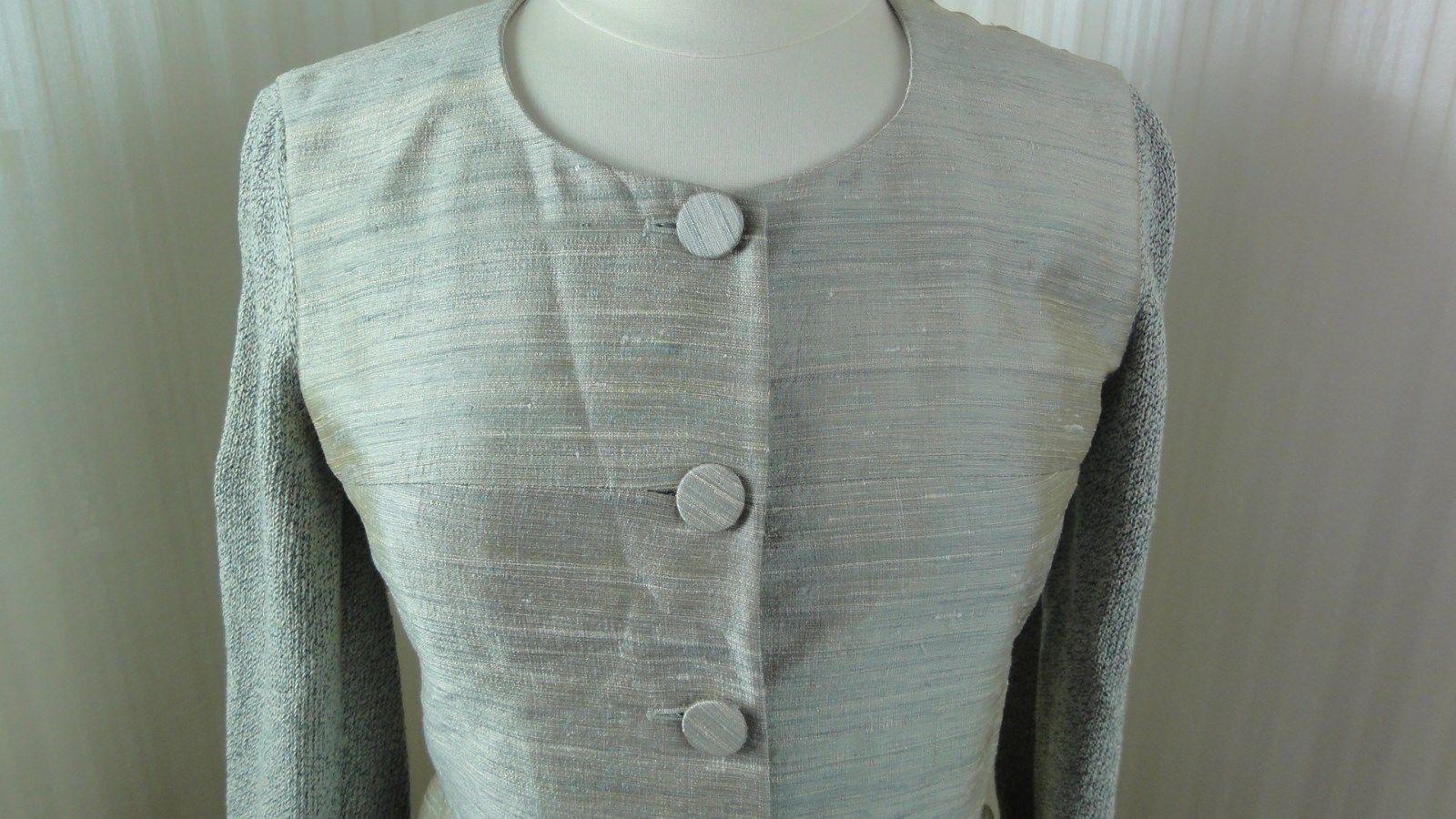 Vintage Emporio Armani Blazer Jacket Ladies size 42 M Gray