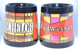 Set of Budweiser Michelob Thermo-Serv Dart Insulated Mug Vintage - $13.30