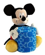 Disney Mickey Mouse Plush with Blanket - $61.58