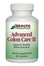 Advanced Colon Care II (60 capsules) by Health Resources - $49.45+