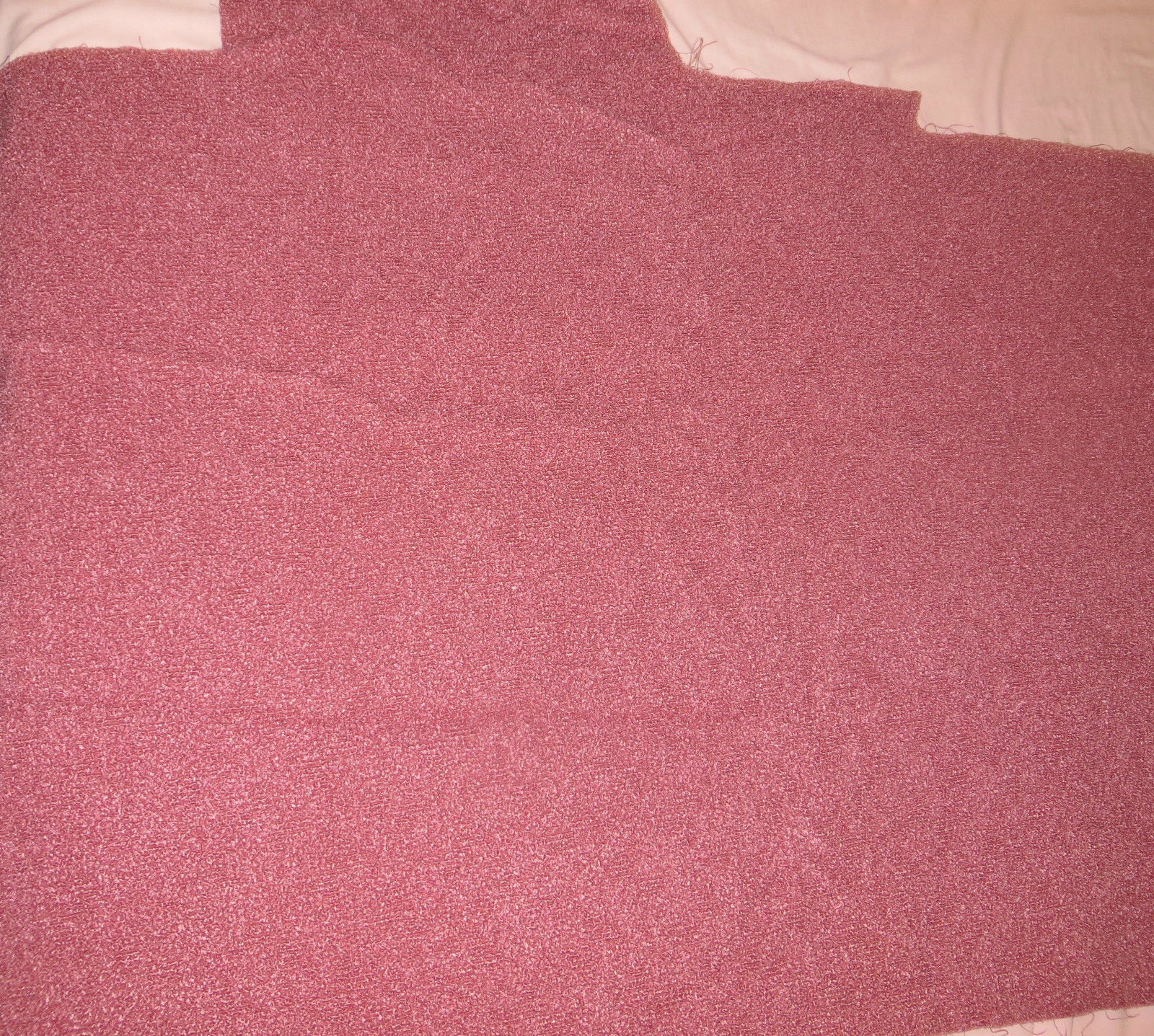 Vintage 1950s Frieze Upholstery Fabric Mauve And 50 Similar Items