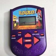 HANGMAN Electronic Handheld Game Classic 2002 MB Milton Bradley ☆ FREE S... - $6.79