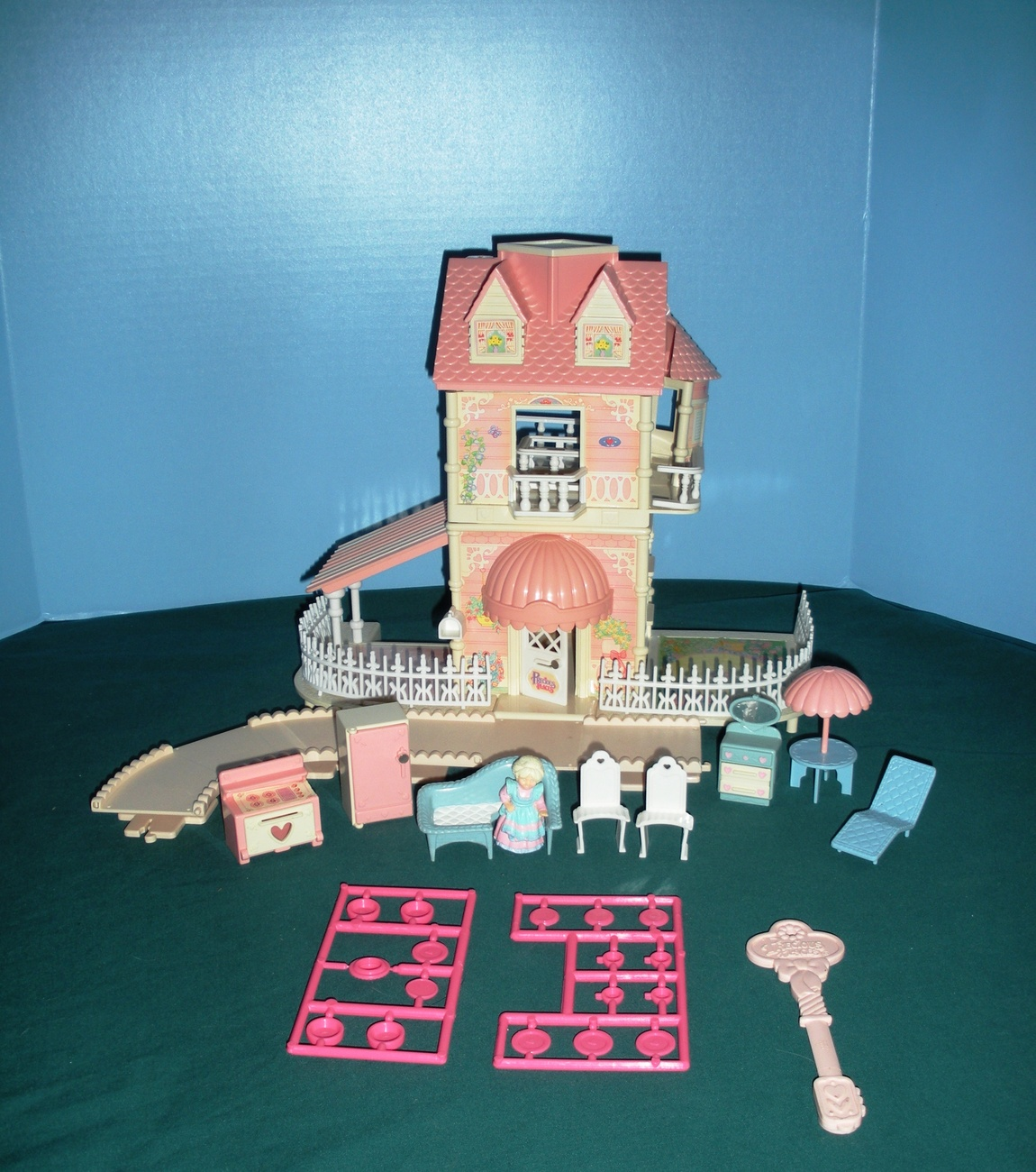 Vtg.Fisher Price Precious Places #5162 Country Kitchen Cottage COMP/EXC++-NR MT!