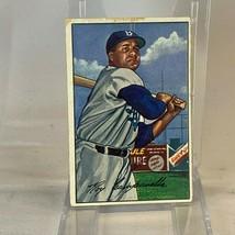 1952 DODGERS ROY CAMPANELLA BOWMAN BASEBALL CARD No. 44 - $49.43