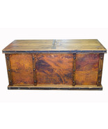 Laguna Real Copper Desk with 3 Copper Panels Rustic Western Real Wood Cabin - $1,484.99