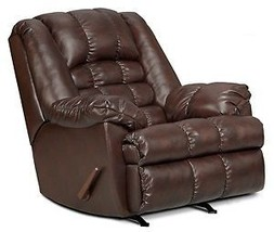 Leather Simmons Recliner Vintage - $770.99