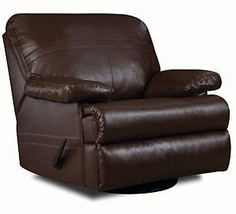 Leather Simmons Recliner Charleston Walnut - $866.74