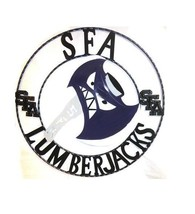 SFA Lumberjacks Round Metal Wall Art *  Collegiate Decor * College * - $54.44