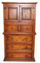 Estate Chest of Drawers Rustic Western Real Sol... - $940.50