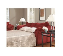 750 Salsa  Full Sofa Sleeper * Free Shipping  Lower 48 * Red * Set Avail... - $21.994,60 MXN