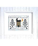 Blackbird Singing cross stitch chart Tiny Modernist Inc - $7.20