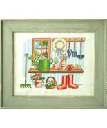 Window Garden cross stitch chart Tiny Modernist Inc - $8.10