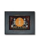 Halloween Skeletons cross stitch chart Tiny Modernist Inc - $7.20