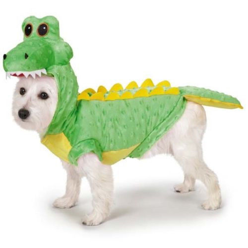 Dog Halloween Costume Crocodile Costumes Pet NEW Casual Canine new in package