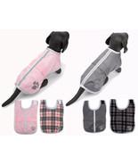 Reversible Blanket Dog Coat Jacket Reflective Rain Noreaster Pet Water R... - $18.99+