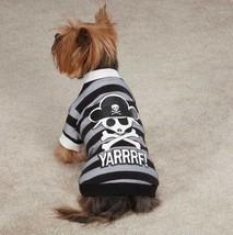 Pirate  Dog T-Shirt Tee Black  Casual Canine Top Pet  XXS - XL Skull Cro... - $16.99+