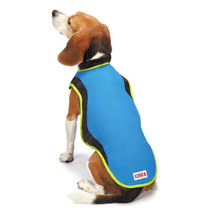 Kong Cool Pup Coat Cooling Jacket Vest w/ ice pack for hot weather pet s... - $29.99