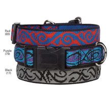 Dog Collar Tribal Scroll Casual Canine Collars  Pet - $6.99+