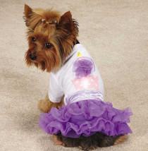 Zack & Zoey Chiffon Cupcake Tee & Skirt Set Dress t-shirt top tulle ruff... - $16.50+