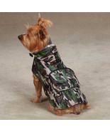 CAMO LOOK  DOG RAIN COAT JACKET PET WATERPROOF RAINCOAT RAINY DAY CAMOUF... - $8.99