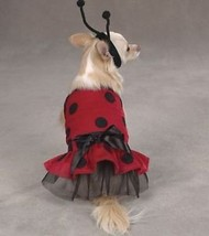 Casual Canine Lady Bug  Dog Halloween Costume XS-XL Pet - $12.99