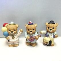 "Set of 3 Vintage HOMCO ""Circus Bears"" Figurines - #1449 - $6.81"