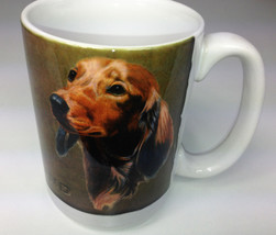 "Dachshund Coffee Dog Mug World NEW Made in USA 4-1/2"" tall Ceramic - $9.95"