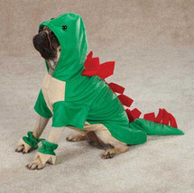 Dogosaurus Dog Halloween Costume XS-XL Dinosaur Pet New Casual Canine - €12,38 EUR+