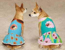 Flutter Bugs Dog Dress Pet Dresses Lady Bug Bumble Bee Zack & Zoey  - $14.99+