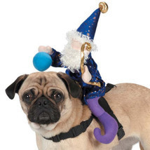 Dog Halloween Costume Wizard Saddle Pet Dog Harness Zack & Zoey new in p... - £14.33 GBP+