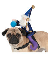 Dog Halloween Costume Wizard Saddle Pet Dog Harness Zack & Zoey new in p... - $334,52 MXN+