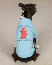Fire Hydrant Don't Pee on Me Dog T-Shirt Tee NEW Casual Canine Top  XXS - L - $11.99+