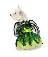 Dog Halloween Costume Neon Spider Princess Costumes Dress Pet BRAND NEW - $312,31 MXN