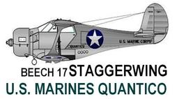 1/144 scale Resin Kit Beech Staggerwing U.S. Marines MAB Quantico, VA  - $12.00