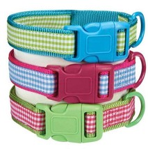 Dog Collar East Side Collection Gingham Sweetie... - $6.99 - $10.99