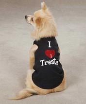 I LOVE TREATS Zack & Zoey Dog Tank Top Shirt  XXS-L  HEART TREATS - $10.99+
