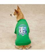Zack & Zoey Alpha Dog University Dog T-Shirt Tee Green Pet Top Clothing  - $9.99+