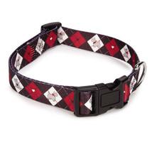 Zack & Zoey Sweetheart Scottie Dog Collar Argyle Scottish Terrier Nylon collars - $10.99