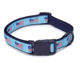 Casual Canine All American Flag Dog Collar Blue... - $6.99 - $8.99
