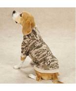 Casual Canine Digital Camo Camouflage Dog Fleece Hoodie Sweatshirt Coat ... - $16.99