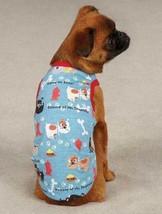Tough Dog Tank Top Pet  T-Shirt Tee  Top  XXS - L  Blue fire hydrant paw... - $11.99+