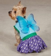 Dog Halloween Costume Woodland Fairy  XS-L Pet Casual Canine Blue - $17.95+