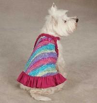 Confetti Dog Dress East Side Collection  pet  blue dresses pink sundress - $13.99+