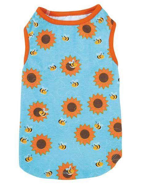 Dog Tank Top Shirt T-Shirt Flutter Bugs Lady Bug Bumble Bee Zack & Zoey Pet