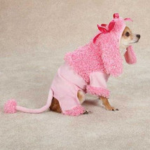 Large size Pink Poodle Dog Halloween Costume Zack & Zoey 20 inches - $15.88