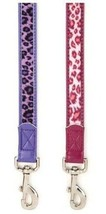 Vibrant Leopard Dog Leash Lead Pet 4 foot 6 foot East Side Collect Leads Leashes - $15.99