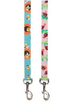 Zack & Zoey Flutter Bugs Dog Leash Lead Leads Pet Nylon Lady Bug Bumble Bee - $11.99+